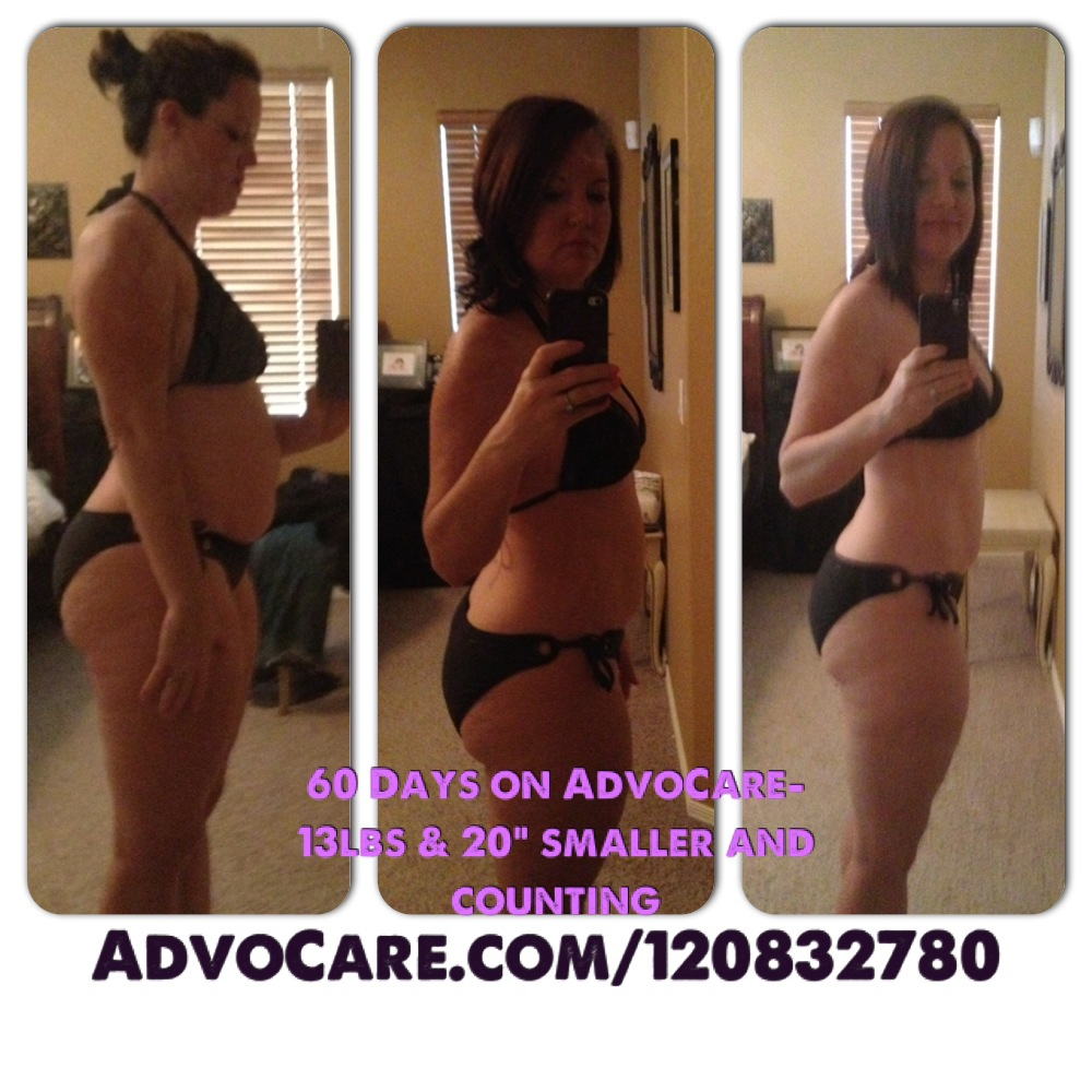 Mommy Wants Her BODY Back: AdvoCare 60 Day Result Pics