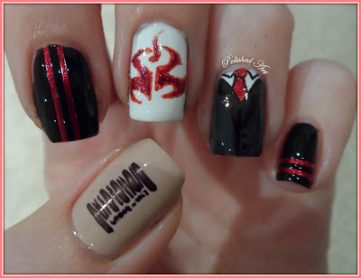 Hitman-game-nail-art