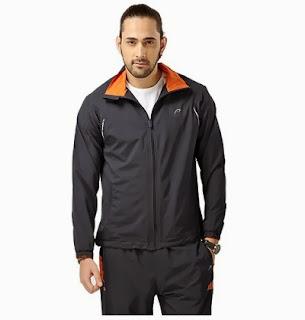 Lowest Price Deal: Proline Men's Track Pants & Jacket – Black worth Rs.1699 for Rs.1019 Only at HomeShop18
