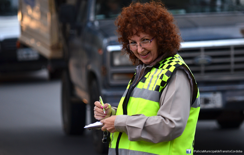 Inspectora Municipal de Tránsito