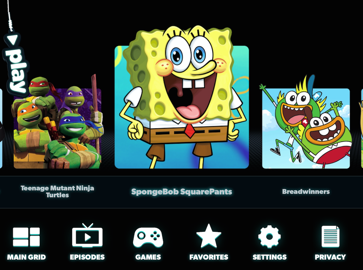 Nickalive nickelodeon to launch the nick play app in Play app