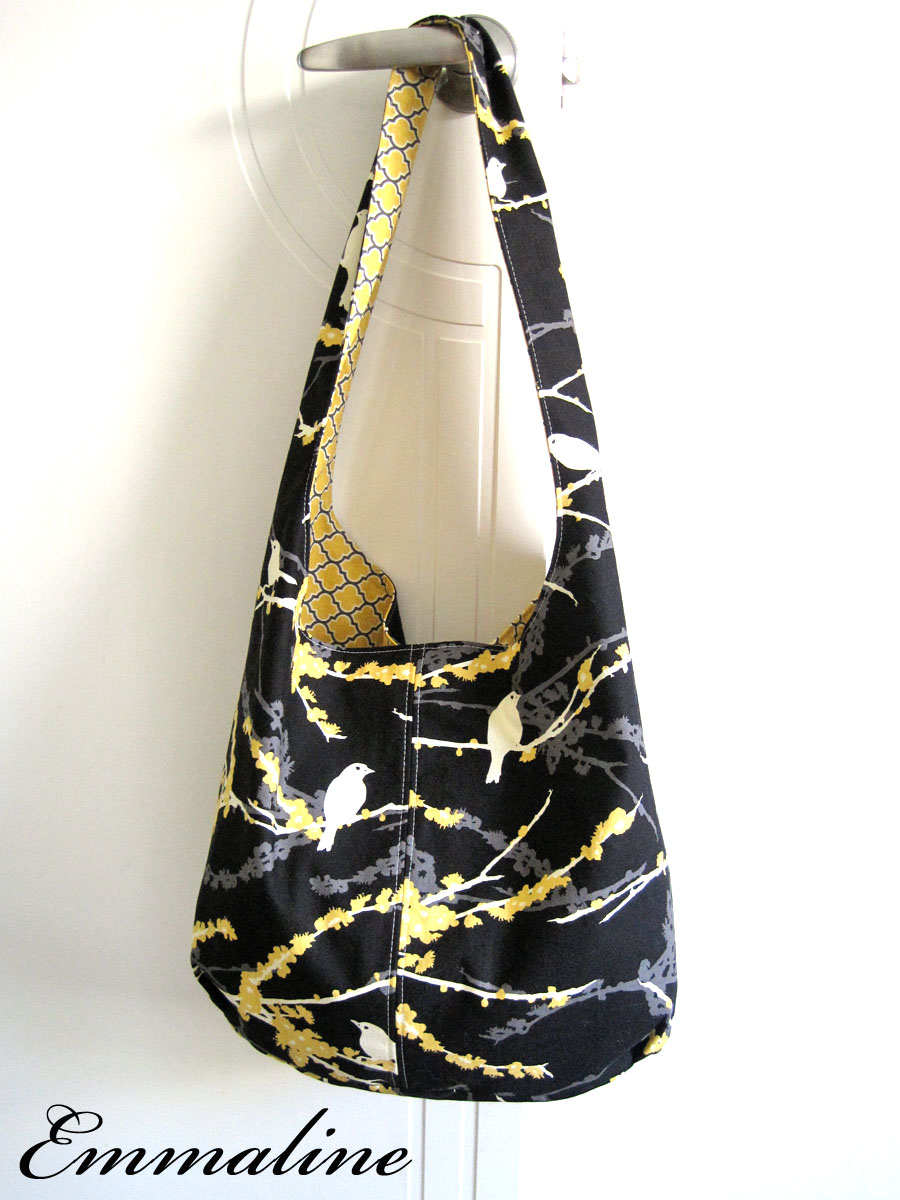 Free Hobo Purse Pattern : ... Bags: Sewing Patterns and Purse Supplies: A Slouchy Hobo Shoulder Bag