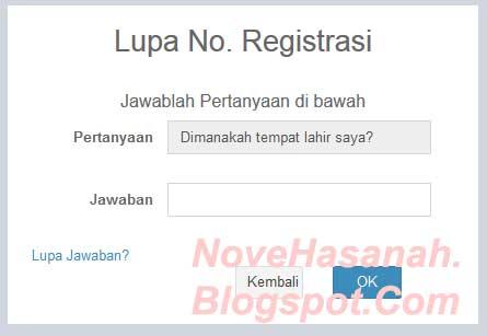 cara mengatasi Lupa Kode Register Saat Ingin LOGIN pada sistem online PUPNS BKN  1