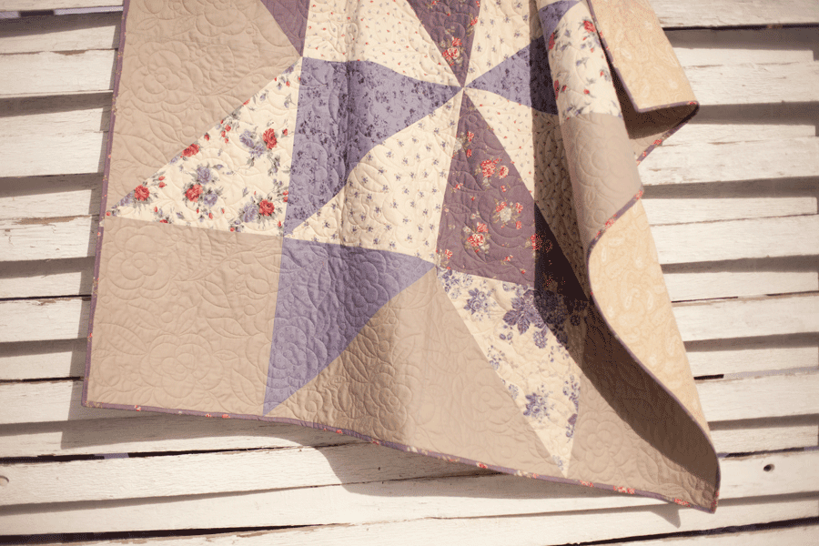The Quilt Barn Padstow Range Giant Star Quilt