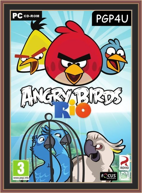 Angry Birds Rio Cover