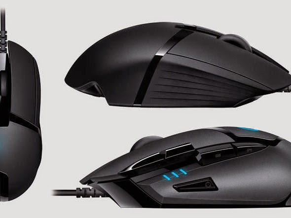 games, mouse gamer, Logitech, perifériocos