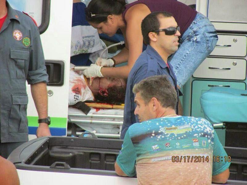 MÉDICA CUBANA SEM TREINAMENTO NO ACIDENTE NA ARRANCADA DE CAMINHÕES (FOTO)