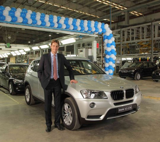Bmwpany In India: BMW Rolls Out 20,000th Car From Sriperumbudur Plant In