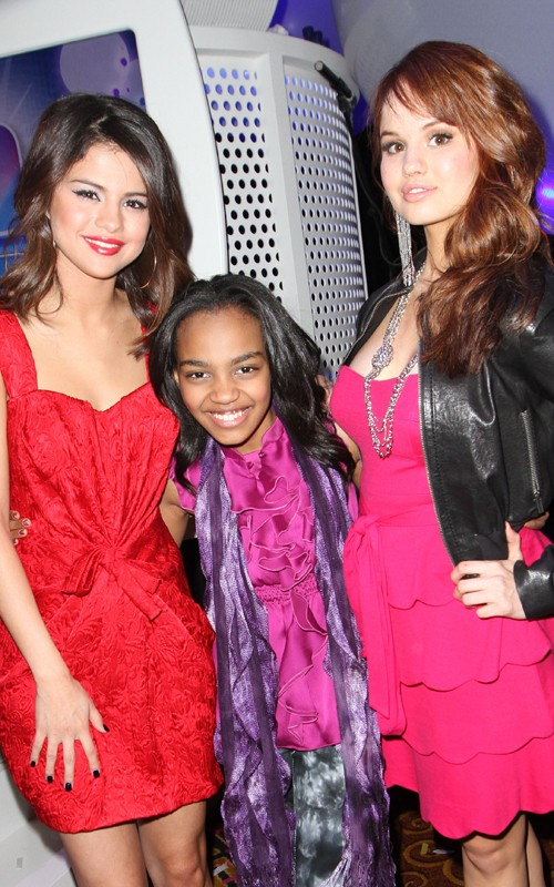 Selena Gomez and Debby Ryan were spotted at Disney's Kids and Family ...