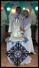 Wedding cake-3 tiers fondant