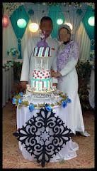 Wedding cake-3 tiers fondant