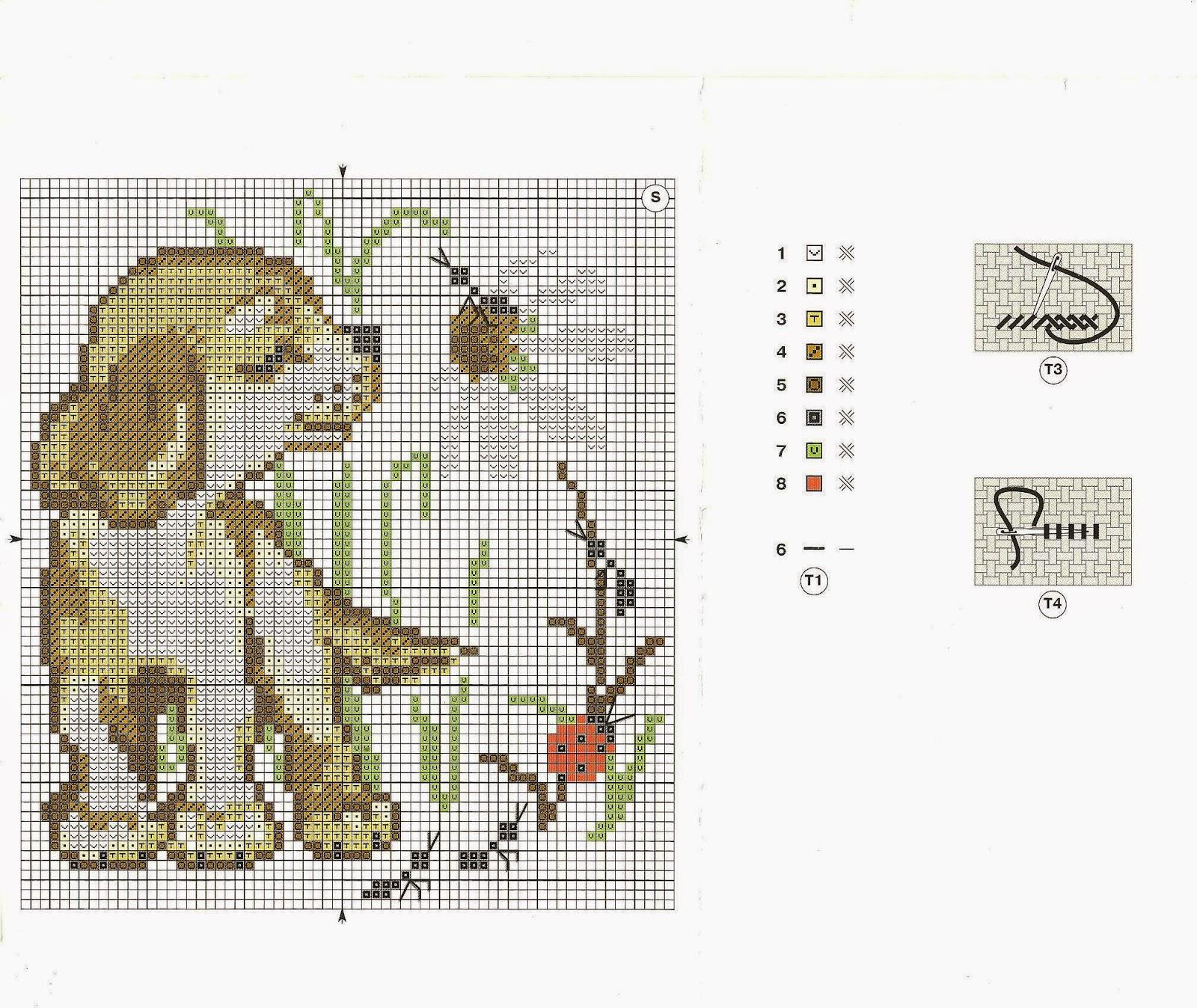 Схемы вышивок крестом 10 на 10 9