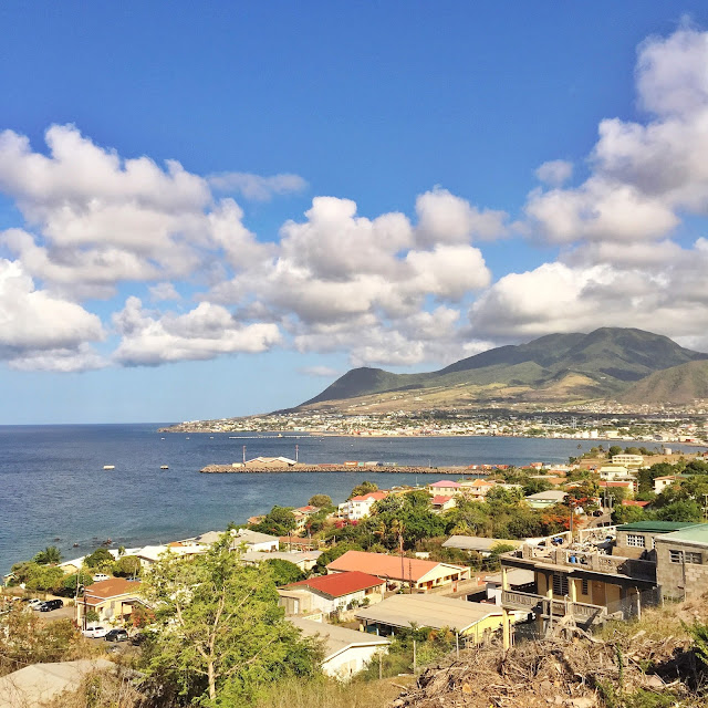 View of St.Kitts
