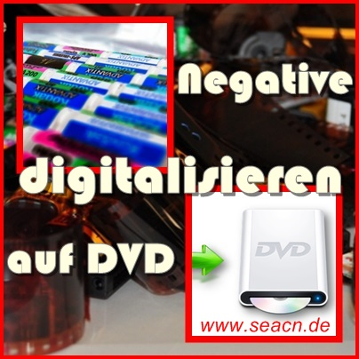 Negativfilme scannen
