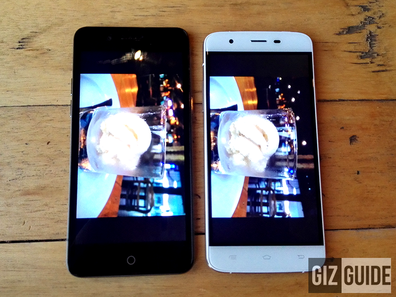 MyPhone My35 Vs Cherry Mobile Flare 4 Quick Camera Comparison!