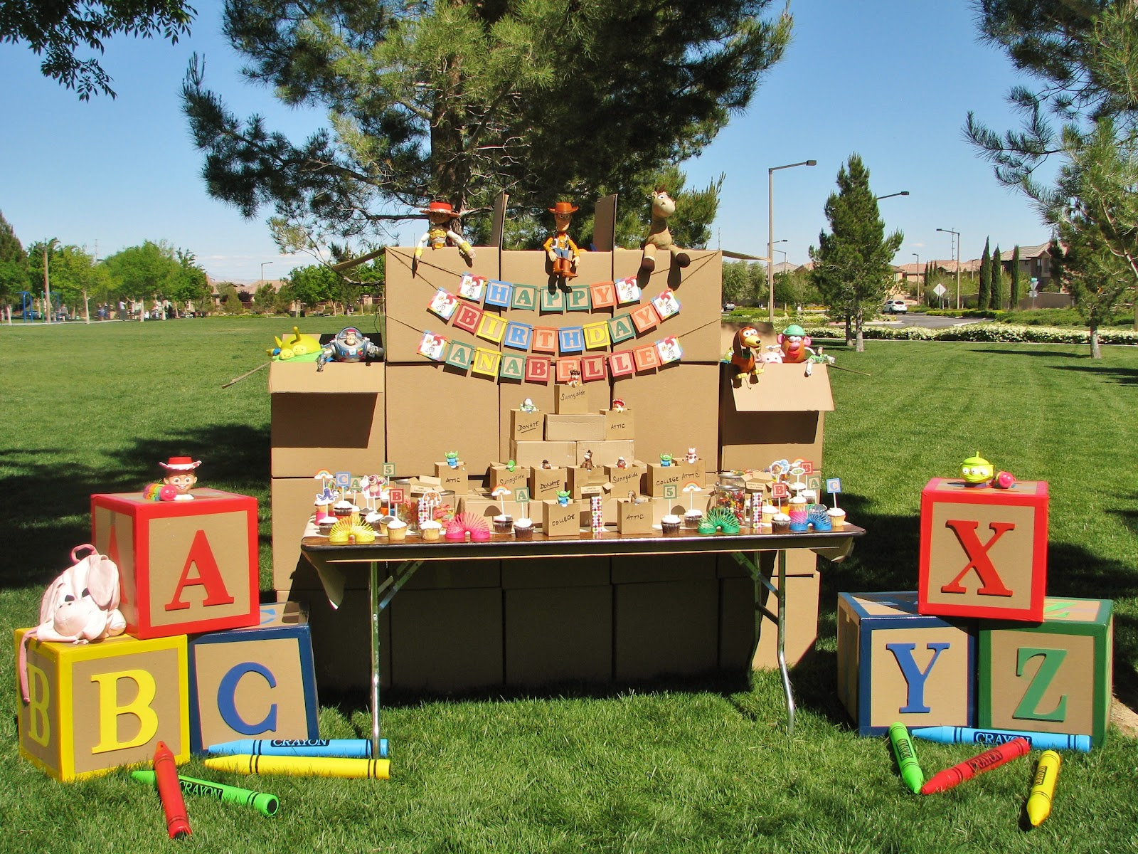 No Toy Gets Left Behind: Toy Story Party! — Lynlees