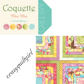 Moda COQUETTE Quilt Fabric by Chez Moi