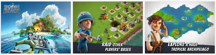 تحميل لعبة Boom Beach 21.157 من أفضل الألعاب الإستراتيجية للأندرويد والأيفون وiOS