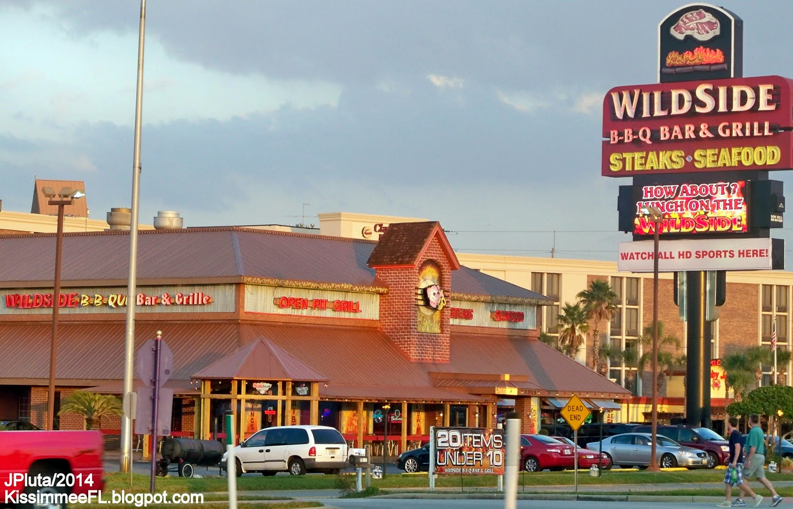 Wildside Bbq Bar Grill Restaurant Kissimmee Florida W Irlo Bronson Memorial Hwy Barbecue Steak Seafood Casual Dining