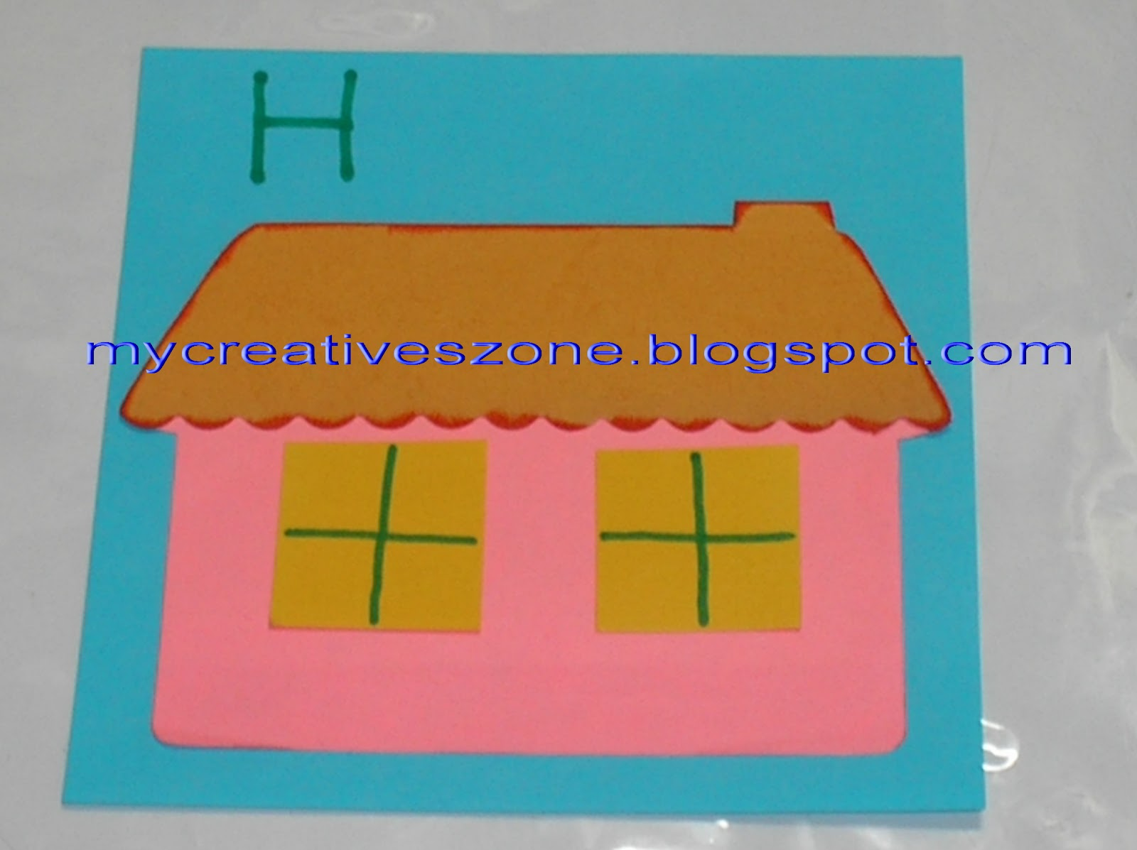 My creatives zone paper craft sticky notes craft for Sticky paper for crafts
