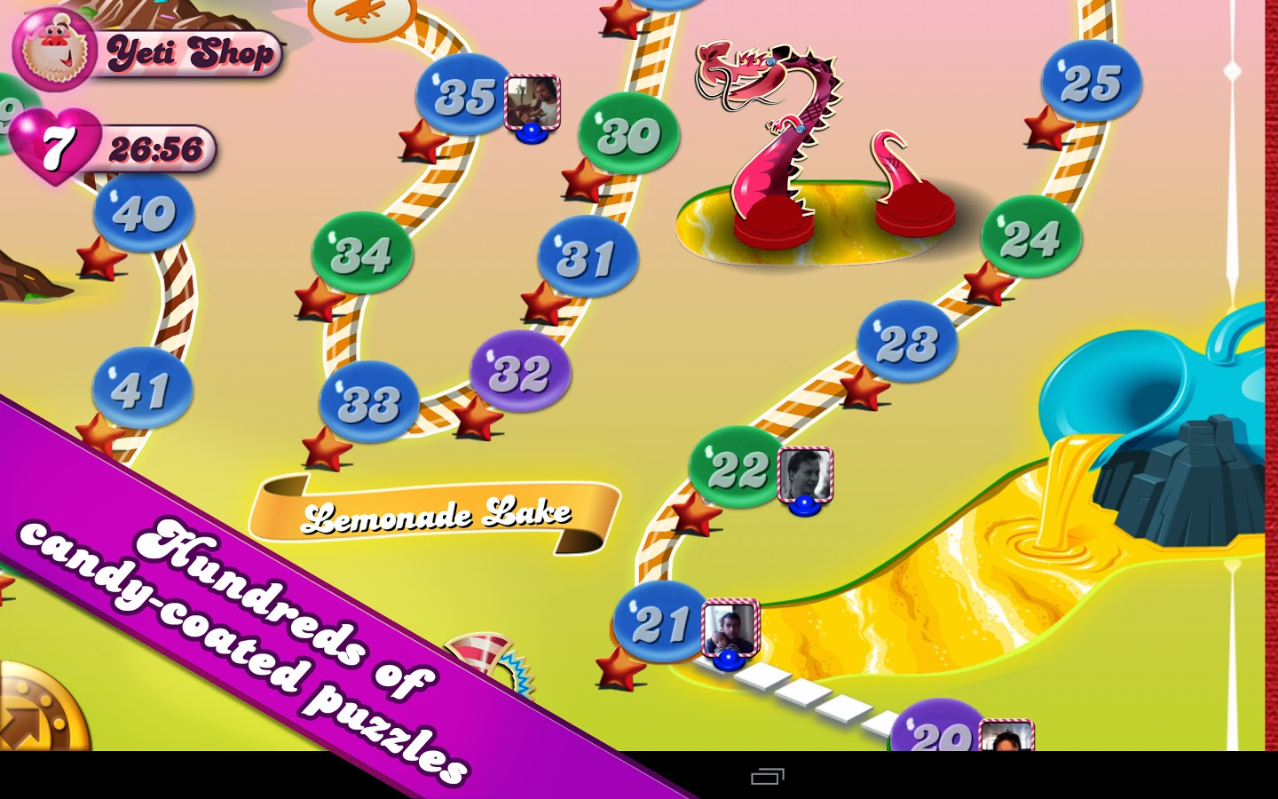 candy crush saga android 2.3