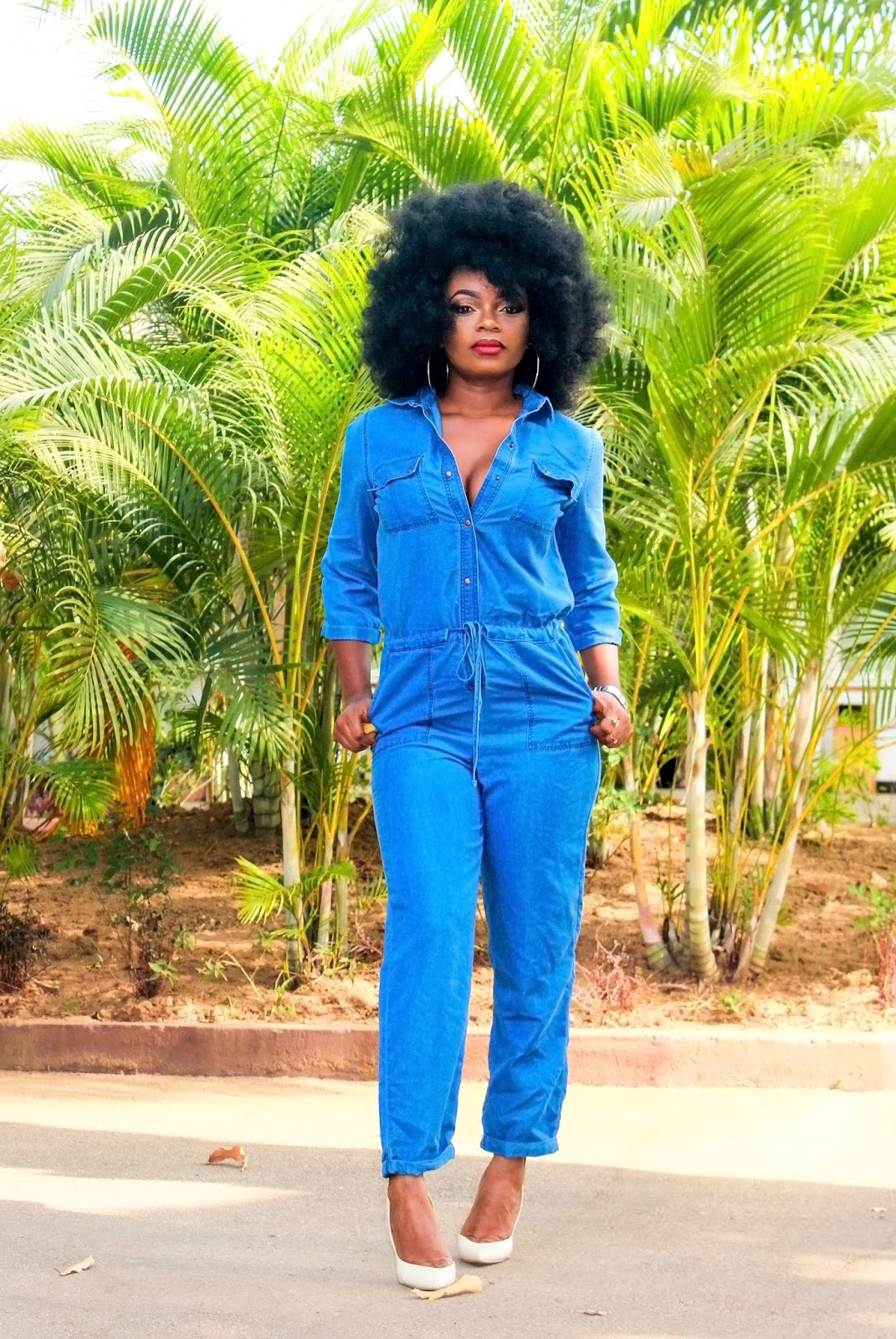 DENIM - JUMPSUIT - Broiler suit