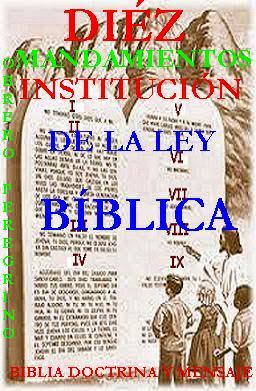 SEXTO MANDAMIENTO DE LA LEY BÍBLICA