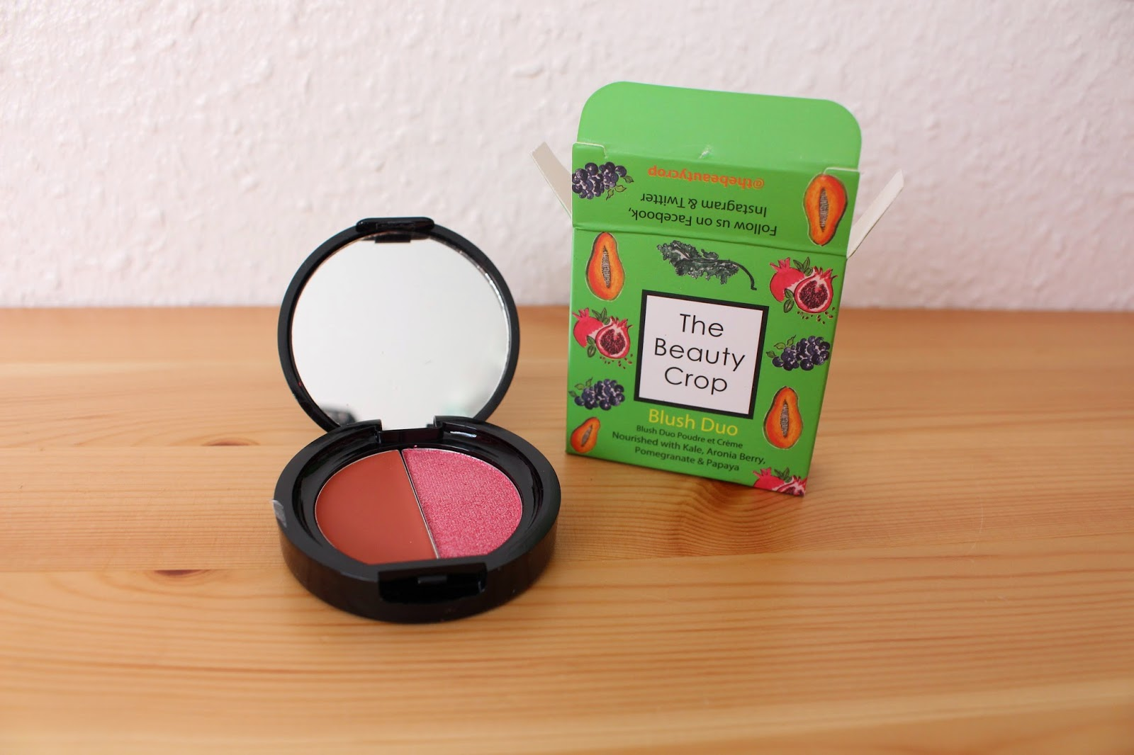 The Body Crop Blush Duo