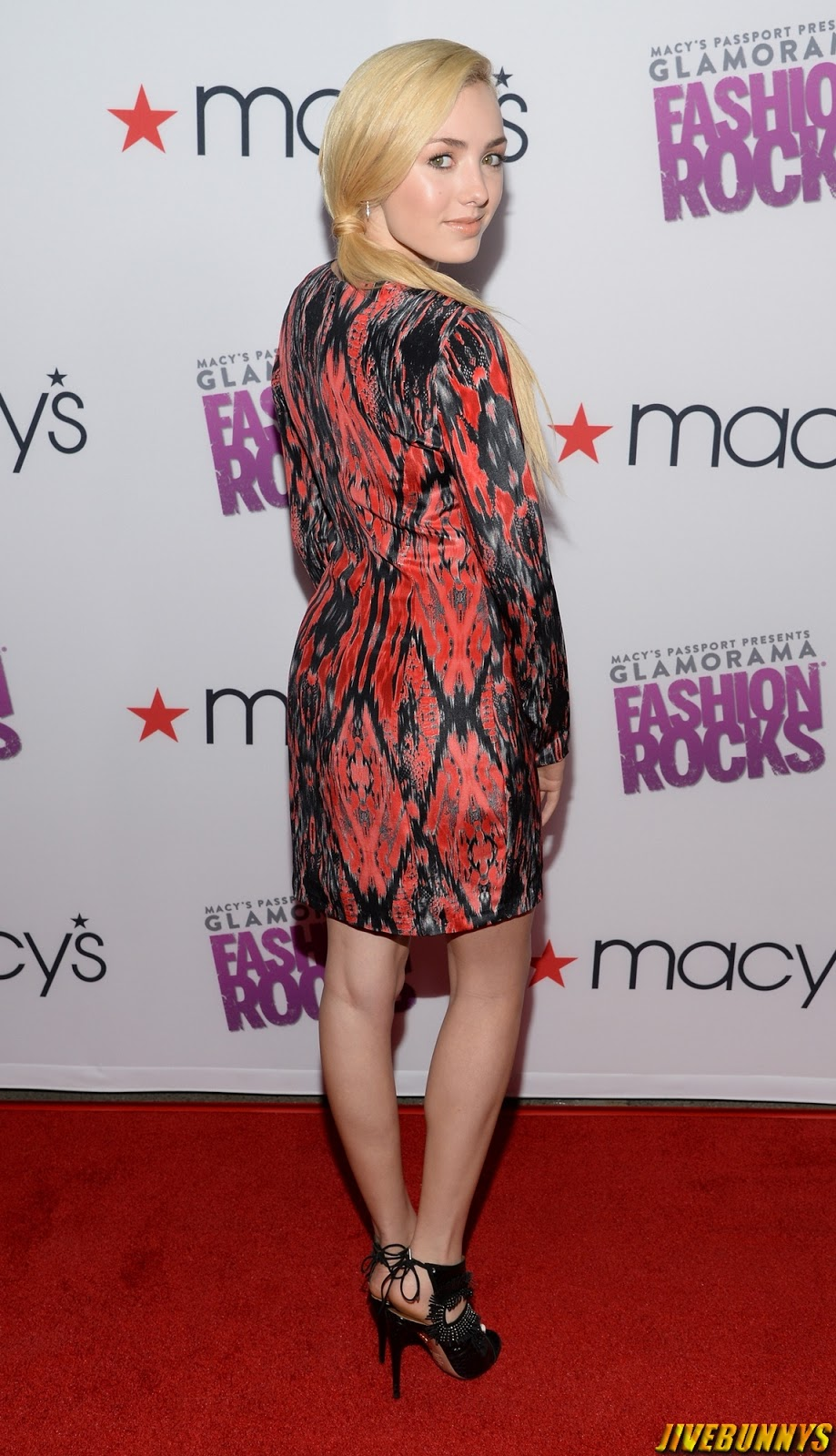 Peyton R List - Glamorama Fashion Rocks event in LA 09/09/14