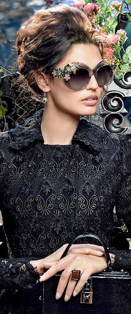 Óculos de sol com estilo Dolce Gabbana