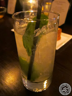 image of cocktail at SakaMai in NYC, New York