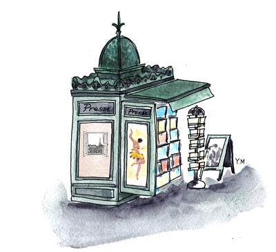 Kiosque by Yukié Matsushita