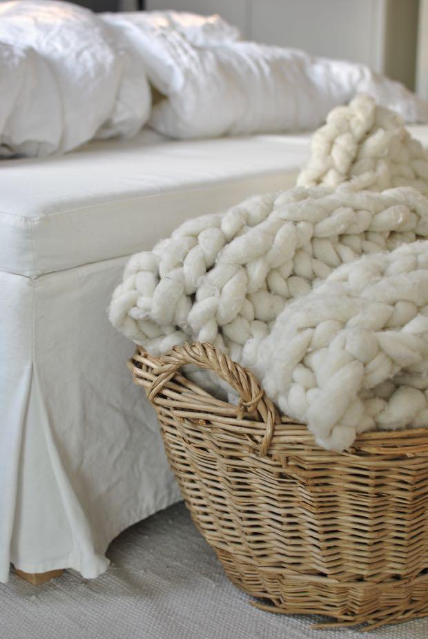 hannashantverk.blogspot.se sovrum modern wool ullpläd