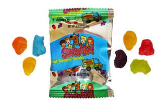 ScoobyDoo jujubes fruits
