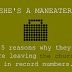 She's a Maneater: 5 reasons ministers are leaving 'the church' in record numbers