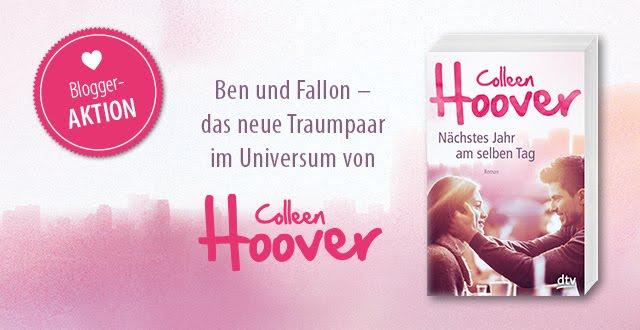 Nächstes Jahr am selben Tag von Colleen Hoover erscheint am 10.03.2017 im dtv-Verlag