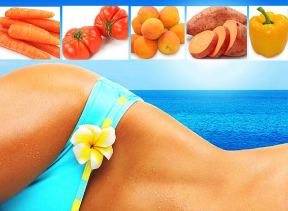 dieta, alimentazione sana, cibi abbronzanti, abbronzatura, alimenti sani