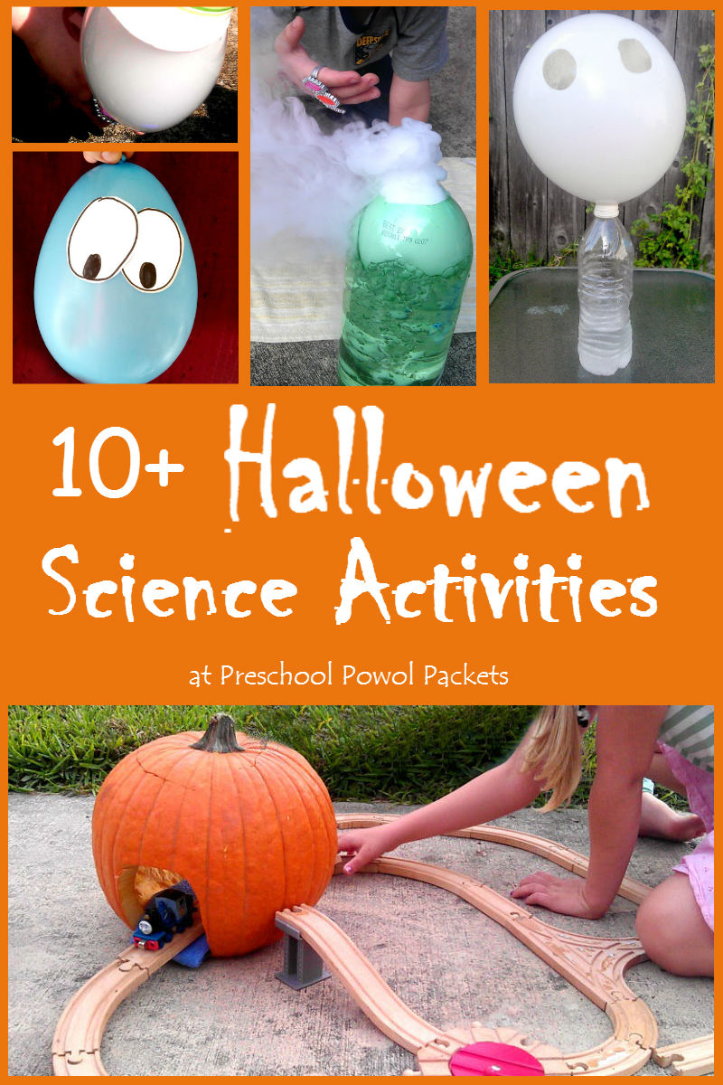 Halloween Science Activities ~ STEM Fun!! | Preschool Powol Packets