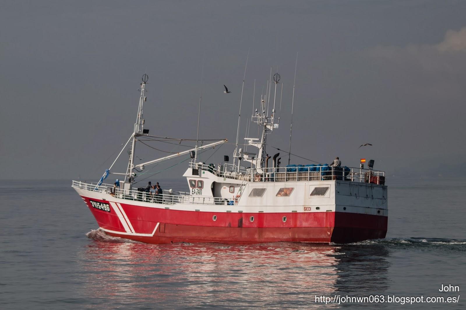 gedi, pesquero, vigo, fotos de barcos, a guarda