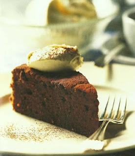 Receta para Torta de chocolate con chocolate