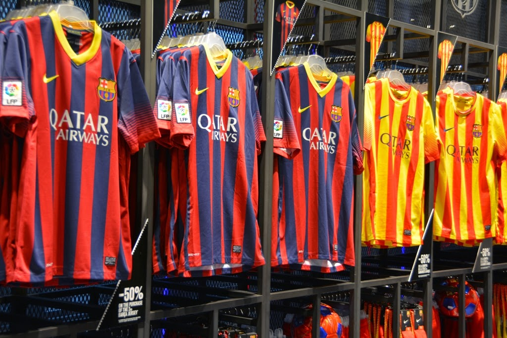Camp Nou Barcelona shop