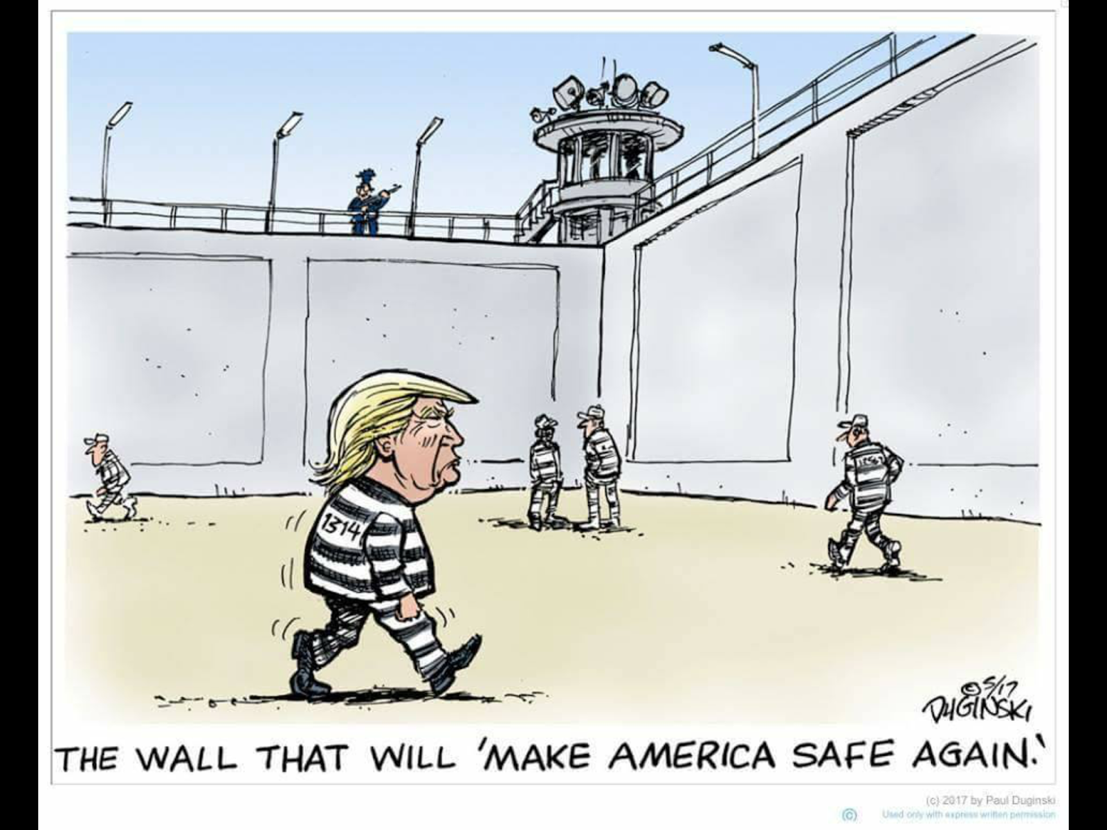 A WALL I WOULD FUND!
