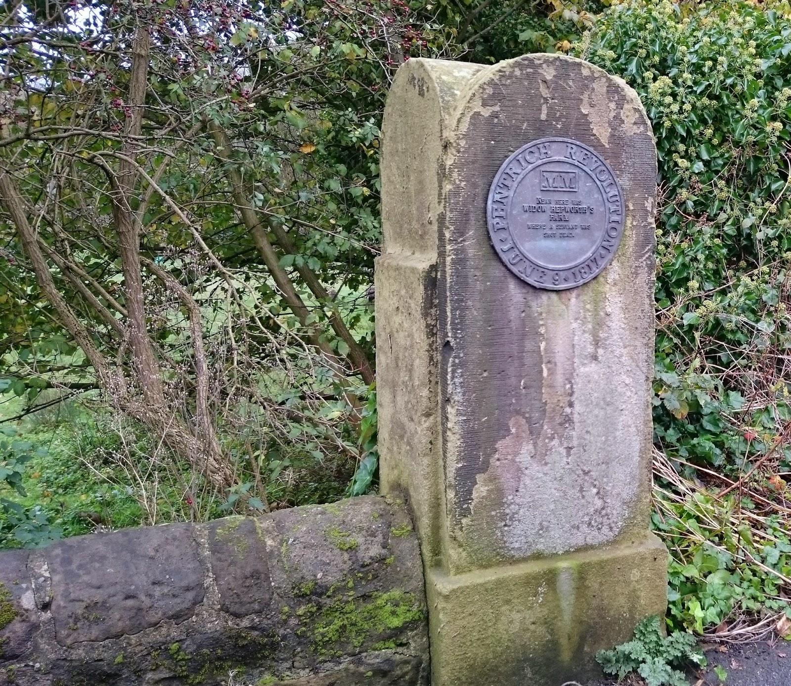 Pentrich plaque