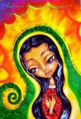 Virgencita de Guadalupe : protege mi Blog.