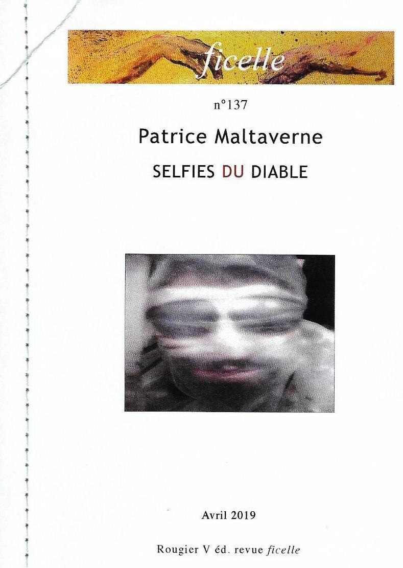 """Les recueils de Malta disponibles : """"Selfies du diable"""", publié par les Éditions Vincent Rougier"""