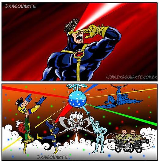 Bộ ảnh chế các nhân vật siêu anh hùng