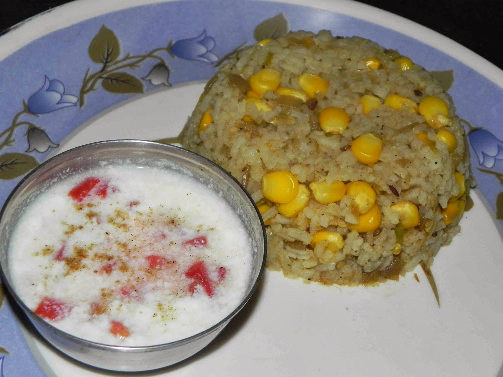 Quick rice dishes corn pulav bhutta chaval recipe delicious preparation time 20 minutes forumfinder Choice Image
