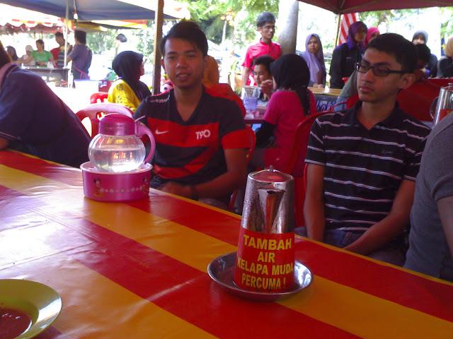 Coconut Shake Terbaik Di Melaka
