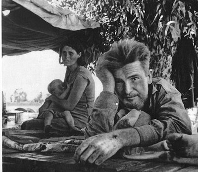 an overview of the people and the great depression in the novel the grapes of wrath by john steinbec Henry fonda, jane darwell and dorris bowdon in john ford's film of john steinbeck's novel the grapes of wrath credit: rex features.