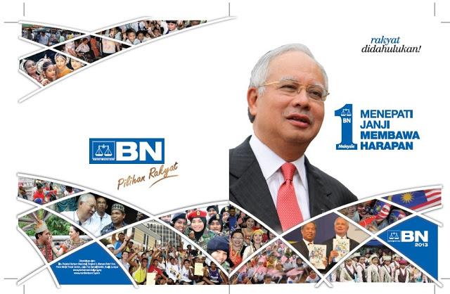 MANIFESTO #PRU13 BARISAN NASIONAL (BN) - (KLIK GAMBAR UNTUK HELAIAN PENUH MANIFESTO)